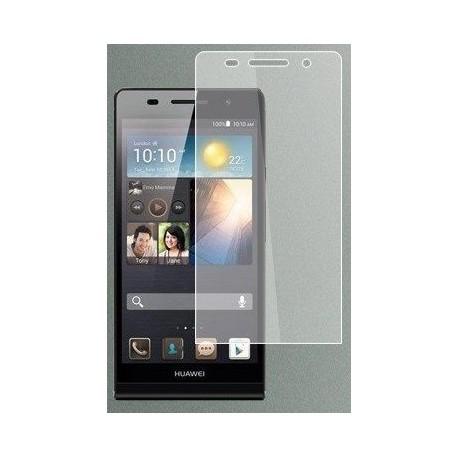 """Apsauginė ekrano plėvelė - grūdintas stiklas """"Tempered Glass"""" Huawei Ascend P6 telefonui."""