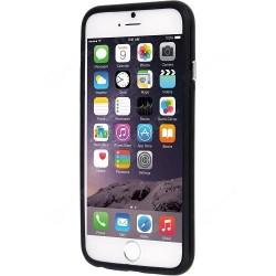 Juodas rėmelis - bamperis iPhone 6 telefonui