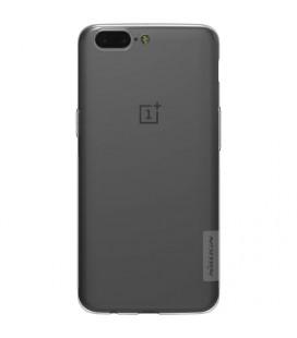 Skaidrus plonas 0,3mm silikoninis dėklas LG K10 2017 telefonui