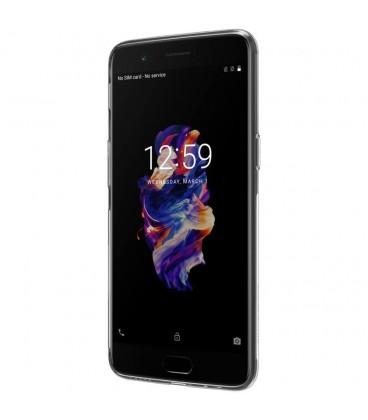 Skaidrus plonas 0,3mm silikoninis dėklas LG K8 2017 telefonui