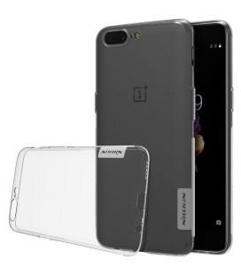 """Skaidrus silikoninis dėklas OnePlus 5 telefonui """"Nillkin Nature"""""""