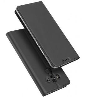 """Pilkas atverčiamas dėklas Huawei Mate 10 Pro telefonui """"Dux Ducis Skin"""""""