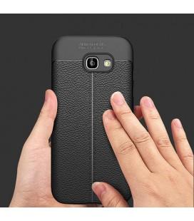 """Odinis juodas atverčiamas dėklas Sony Xperia XA1 telefonui """"Nillkin Qin"""""""