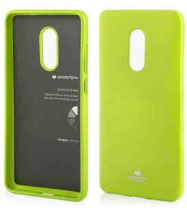 """Žalias silikoninis dėklas Xiaomi Redmi Note 4/4x telefonui """"Mercury Goospery Pearl Jelly Case"""""""