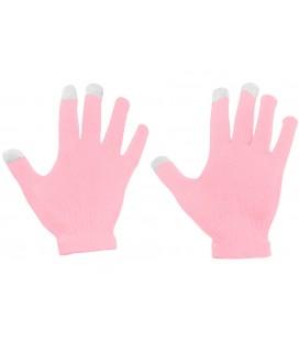 """Rožinės pirštinės liečiamam ekranui """"Touch Gloves"""""""