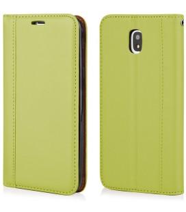 """Žalias atverčiamas dėklas Samsung Galaxy J5 2017 telefonui """"Elegance"""""""