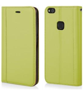 """Žalias atverčiamas dėklas Huawei P10 Lite telefonui """"Elegance"""""""
