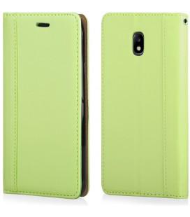 """Žalias atverčiamas dėklas Samsung Galaxy J3 2017 telefonui """"Elegance"""""""