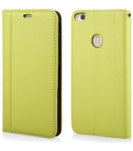 """Žalias atverčiamas dėklas Huawei P8/P9 Lite 2017 telefonui """"Elegance"""""""