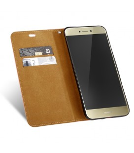 """Juodas silikoninis dėklas Huawei P10 Lite telefonui """"Mercury iJelly Case Metal"""""""