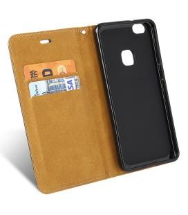 """Rausvai auksinės spalvos silikoninis dėklas Huawei P10 Lite telefonui """"Mercury iJelly Case Metal"""""""