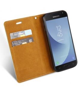 """Raudonas silikoninis dėklas Huawei P10 Lite telefonui """"Mercury iJelly Case Metal"""""""