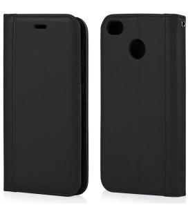"""Juodas atverčiamas dėklas Xiaomi Redmi 4X telefonui """"Elegance"""""""