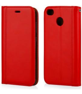 """Raudonas atverčiamas dėklas Xiaomi Redmi 4X telefonui """"Elegance"""""""