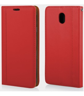 """Raudonas silikoninis dėklas Huawei P10 telefonui """"Mercury iJelly Case Metal"""""""