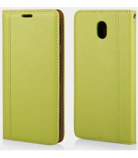 """Žalias atverčiamas dėklas Samsung Galaxy J7 2017 telefonui """"Elegance"""""""