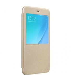 """Rausvai auksinės spalvos silikoninis dėklas Samsung Galaxy J3 2016 telefonui """"Mercury iJelly Case Metal"""""""