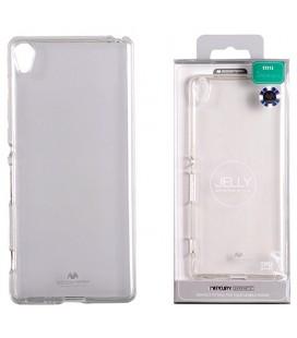 """Skaidrus silikoninis dėklas Mercury Goospery """"Jelly Case"""" Sony Xperia XA1 telefonui"""