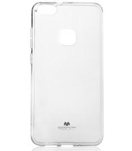 """Skaidrus silikoninis dėklas Huawei P10 Lite telefonui """"Mercury Goospery Pearl Jelly Case"""""""