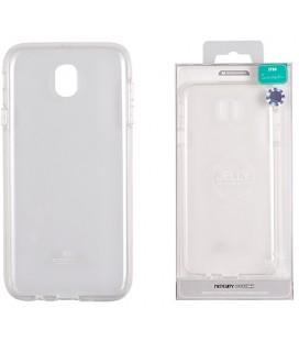 """Skaidrus silikoninis dėklas Samsung Galaxy J7 2017 telefonui """"Mercury Goospery Pearl Jelly Case"""""""