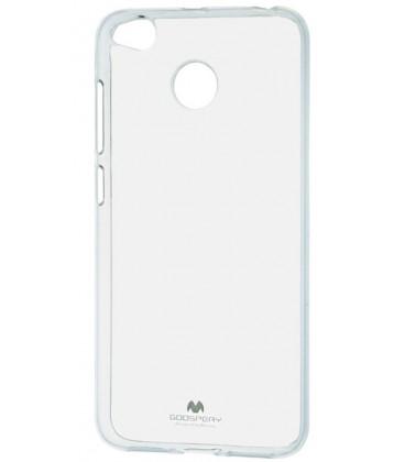 """Skaidrus silikoninis dėklas Xiaomi Redmi 4x telefonui """"Mercury Goospery Pearl Jelly Case"""""""