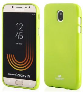 """Auksinės spalvos silikoninis dėklas Samsung Galaxy J5 2016 telefonui """"Mercury iJelly Case Metal"""""""
