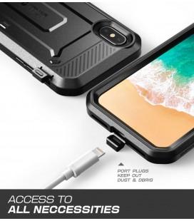 """Juodas silikoninis dėklas Samsung Galaxy J1 2016 telefonui """"Mercury iJelly Case Metal"""""""