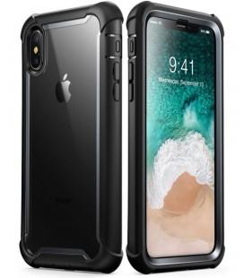 """Juodas dėklas Apple iPhone X / 10 telefonui """"Supcase I-Blason Ares"""