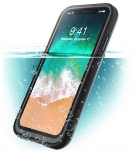 """Juodas dėklas Apple iPhone X / 10 telefonui """"Supcase I-Blason Aegis IP68"""