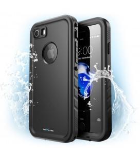 """Juodas dėklas Apple iPhone 7 / 8 telefonui """"Supcase NC IP68"""