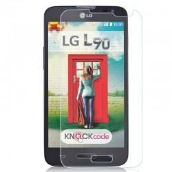 """Apsauginė ekrano plėvelė - grūdintas stiklas """"Tempered Glass"""" LG L90 D405 telefonui."""