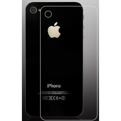 Apsauginis grūdintas stiklas iPhone 4/4s/4g galiniam dangteliui - nugarėlei