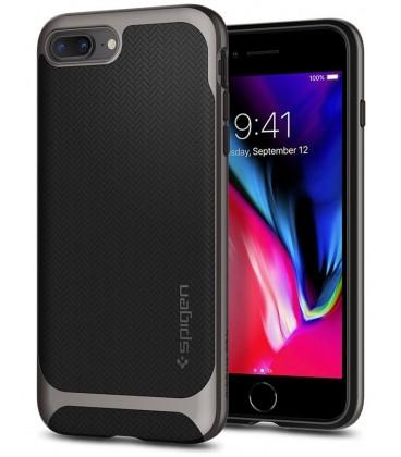 """Juodas dėklas Apple iPhone 7 Plus / 8 Plus telefonui """"Spigen Neo Hybrid"""""""