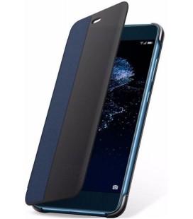 """Originalus mėlynas atverčiamas dėklas Huawei P10 Lite telefonui """"View Cover"""""""