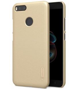 """Auksinės spalvos plastikinis dėklas Xiaomi Mi5X (Mi 5X, Mi A1) telefonui """"Nillkin Frosted Shield"""""""