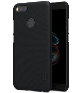 "Juodas plastikinis dėklas Xiaomi Mi5X (Mi 5X, Mi A1) telefonui ""Nillkin Frosted Shield"""