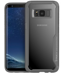 "Pilkas dėklas Samsung Galaxy S8 telefonui ""iPaky Survival Case Gel Anti-Fall"""