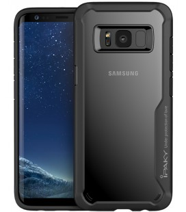 "Juodas dėklas Samsung Galaxy S8 telefonui ""iPaky Survival Case Gel Anti-Fall"""