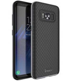 """Pilkas dėklas Samsung Galaxy S8 telefonui """"iPaky Bumblebee Neo Hybrid"""""""