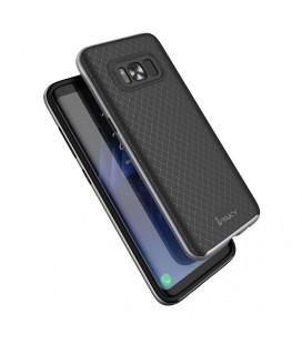 """Rožinis silikoninis dėklas Samsung Galaxy J5 telefonui """"Glossy"""""""