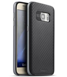 """Pilkas dėklas Samsung Galaxy S7 telefonui """"iPaky Bumblebee Neo Hybrid"""""""