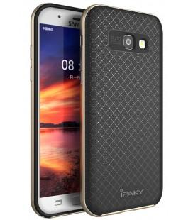 """Auksinės spalvos dėklas Samsung Galaxy A5 2017 telefonui """"iPaky Bumblebee Neo Hybrid"""""""