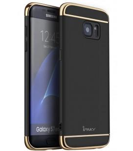 """Juodas dėklas Samsung Galaxy S7 Edge telefonui """"iPaky 3in1"""""""