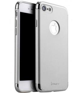 """Sidabrinės spalvos dėklas Apple iPhone 7/8 telefonui """"iPaky 3in1"""""""