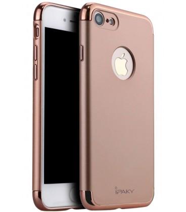 """Rausvai auksinės spalvos dėklas Apple iPhone 7/8 telefonui """"iPaky 3in1"""""""