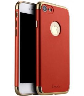 """Raudonas dėklas Apple iPhone 7/8 telefonui """"iPaky 3in1"""""""