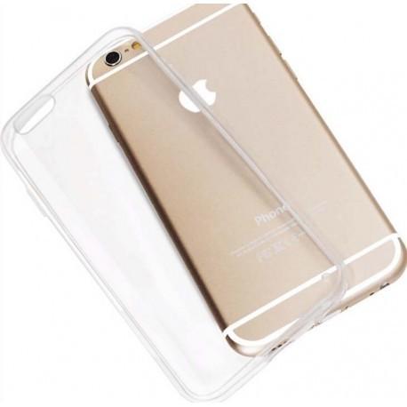 Skaidrus plonas 0,3mm silikoninis dėklas iPhone 6 telefonui