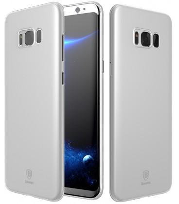 """Baltas dėklas Samsung Galaxy S8 telefonui """"Baseus Wing Case"""""""