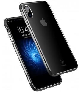 """Juodas dėklas Apple iPhone X telefonui """"Baseus Armor Case"""""""