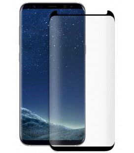 Lenktas juodas apsauginis grūdintas stiklas Samsung Galaxy S8 telefonui